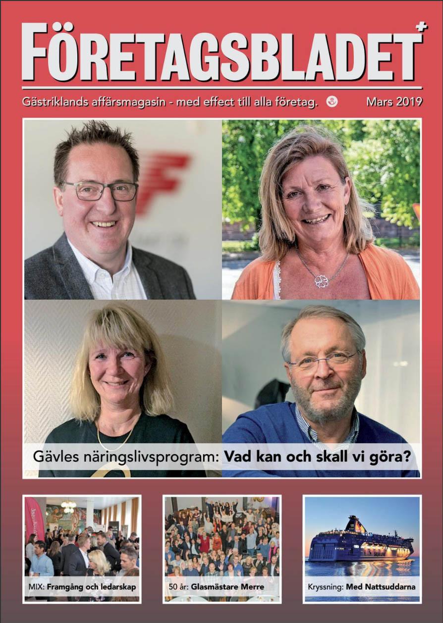 Läs marsnumret av Företagsbladet på nätet