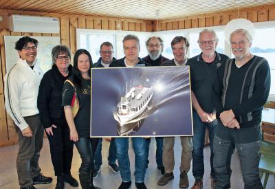 Styrelsen och marknadsgruppen fr. v. Marcus Hedenstedt, Eva Hofstrand, Linda Adamsson, Manfred Johansson, Per Nilsson, Martin Lindfors, Jan Nord, Sten-Åke Holmström och Henrik Jakenberg.