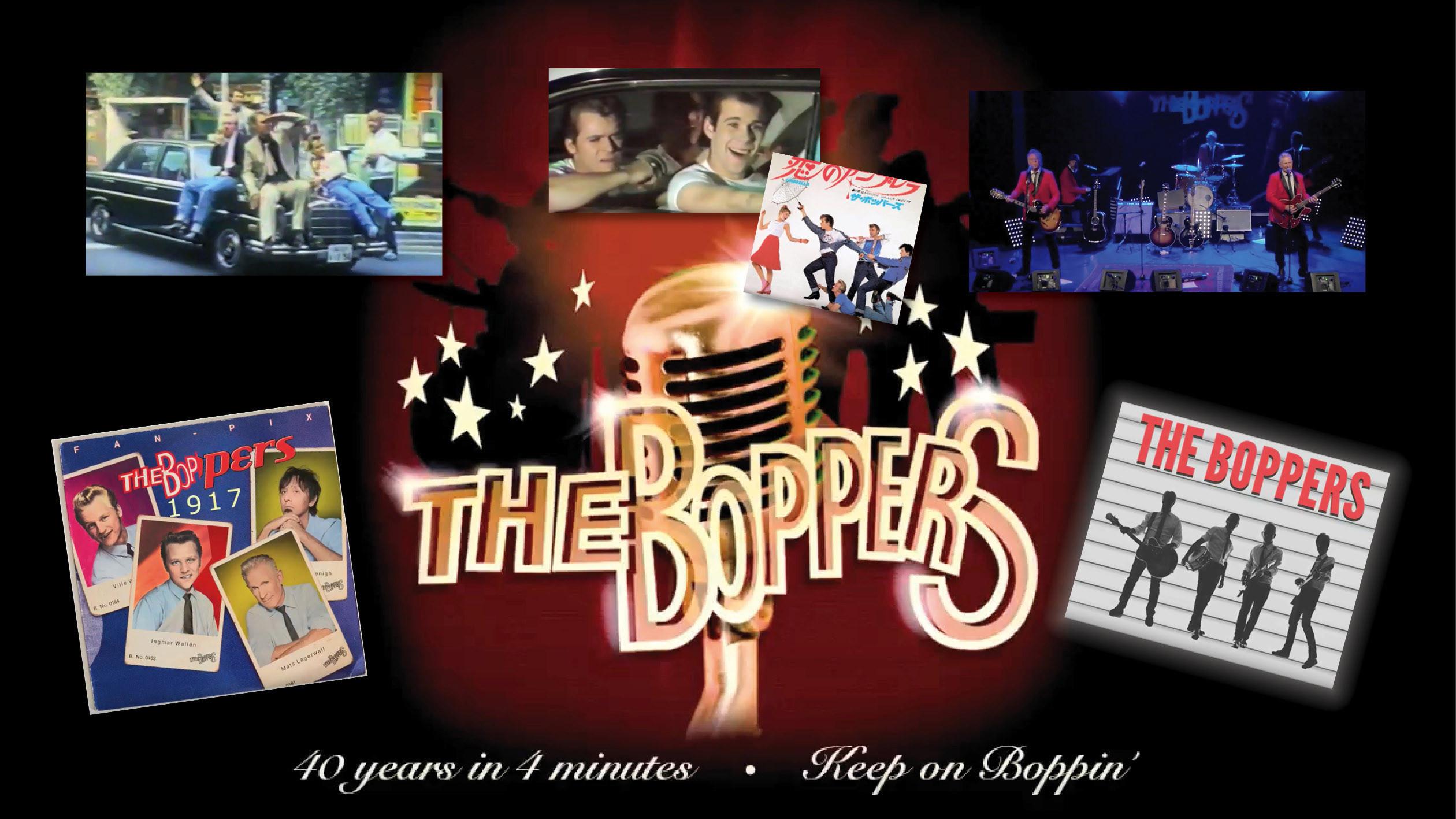 At the hop - 40 år på 4 minuter med The Boppers