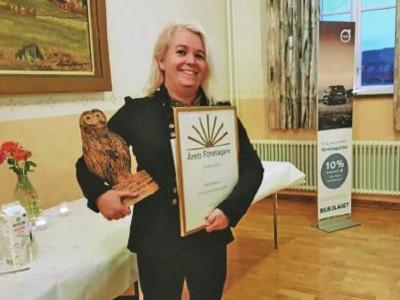 Sofie Almkvist blev Årets företagare i Ockelbo