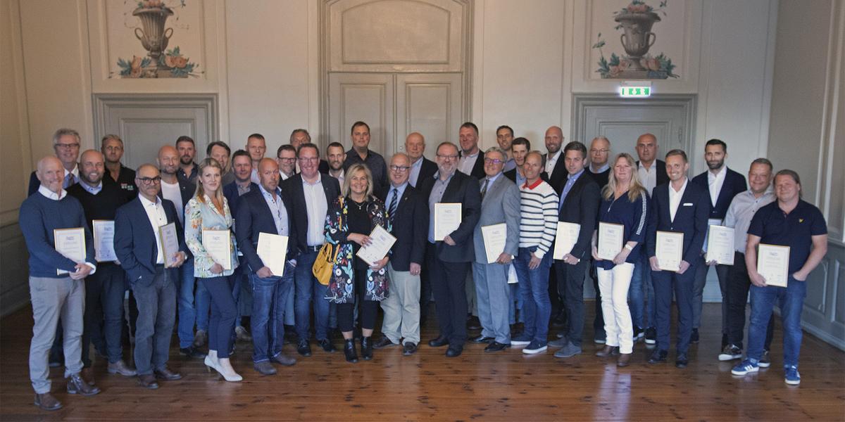 50 framgångsrika företagare prisades på Gävle slott