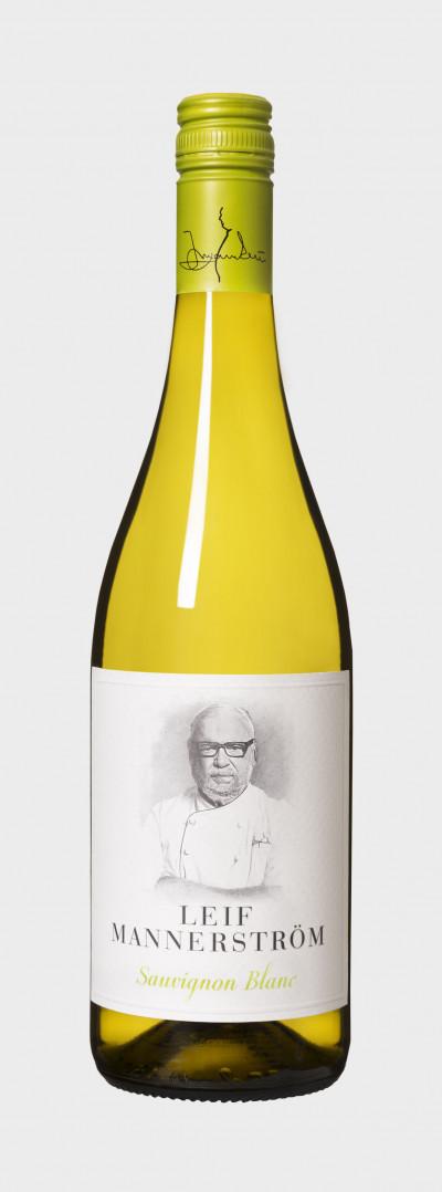 Flaska Leif Mannerström Sauvignon Blanc.