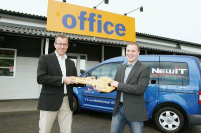 Daniel tar över Office IT-Partner i Gävle 2008 från dåvarande ägaren Hans-Göran Karlsson.
