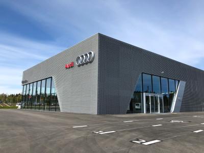 Nya Bilmetro Audi i Gävle