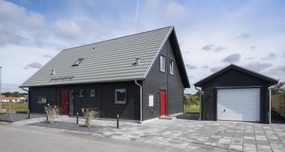 Nybyggt nyckelfärdigt hus ifrån lbhus