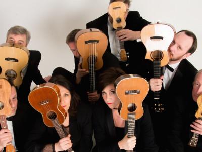 """The Ukulele Orchestra of Great Britain"" till Sverige!"