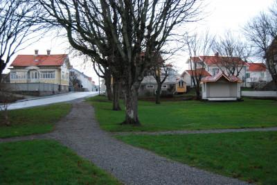 Hovenäsets park. Foto Lars Rydbom Bohusläns Museum