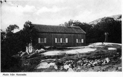 Vykort Gammelgården/Christian Eklund
