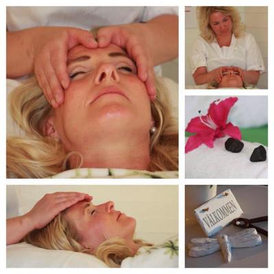 Jennie behandlar för lugn och kroppslig ro