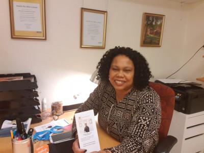 Sandra ger tid och energi för att finna glädje i livet.