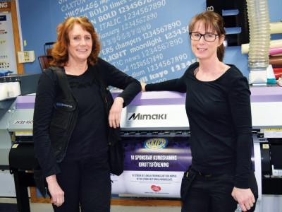 Entreprenörer - Eva och Monika på Skyltmakarna