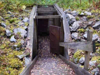 Hålkekärrsnäs skans - minne från andra världskriget