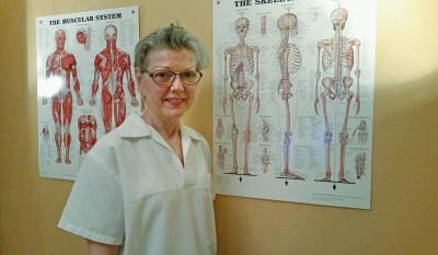 Lotta Lundborg, legitimerad sjukgymnast