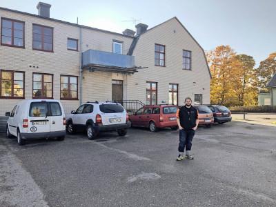 Första skoterfabriken i Ockelbo ligger efter Åsgatan som går genom samhället.