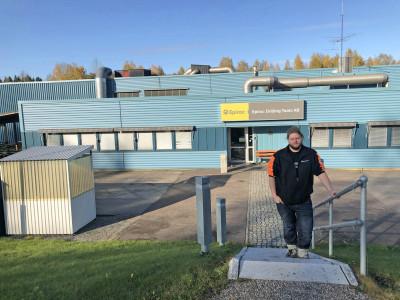 Den andra skoterfabriken ligger på Hamrångevägen och inhyser idag Epiroc Drilling Tool.