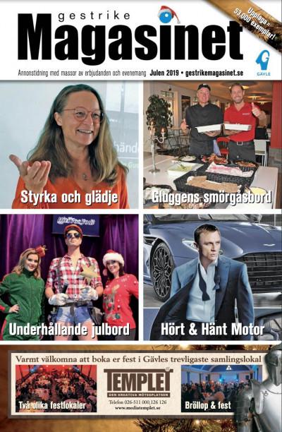 Läs julnumret av Gestrike Magasinet på nätet