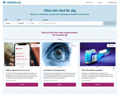 Vården.se lanserar vårdbarometern – i oktober var husläkare det vanligaste sökordet