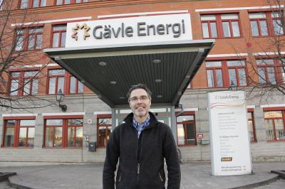 Mattias Gustafsson, Utvecklingssamordnare Energitjänster hos Gävle Energi