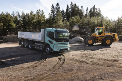 Volvo Electric concept construction