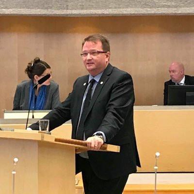 Riksdagsledamoten Lars Beckman (M)
