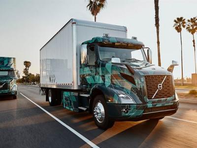 Volvo demonstrerar elektrifierade tunga lastbilar i Nordamerika