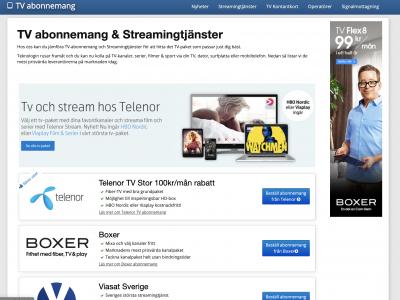 Fler streamingtjänster på intåg tvingar tv-leverantörerna att tänka nytt