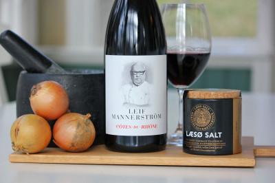 Leif Mannerström lanserar nytt rött kvalitetsvin