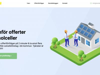SolcellsOfferter hjälper svenskar gå över till grön el