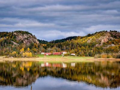 Åby säteri i Sotenäs kommun på 1300-talet.