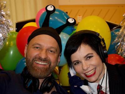 Eurovisionfest med Carolina Norén och Björn Kjellman i P4 lördag 16 maj