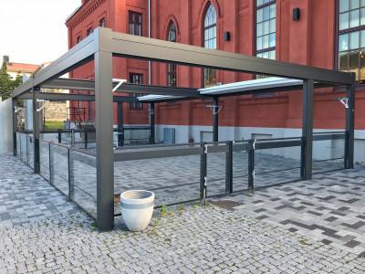 Modell Sandviken Hyttgatan, byggd på Basmodell 5