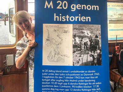 Ny marinhistorisk utställning ombord på minsveparen M 20