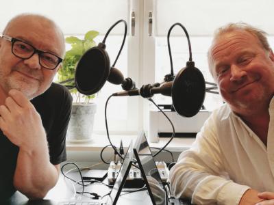 """Superduo i ny podcast - Claes Malmberg och Stefan Livh """"Mot bättre vetande"""" varje fredag!"""