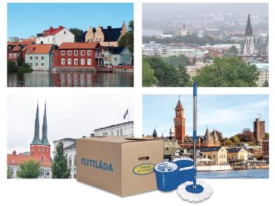 Svensk Flyttstäd har nu etablerat sig på 25 nya orter