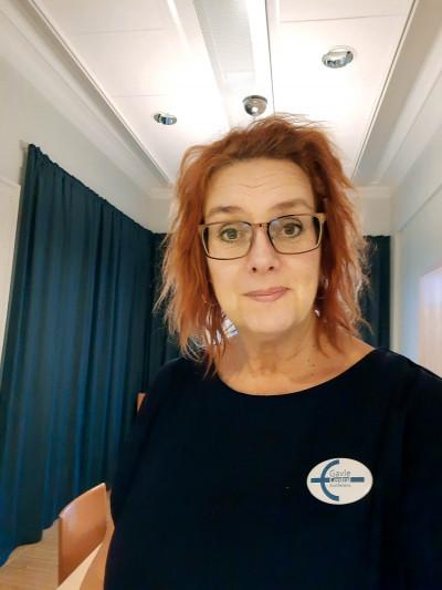 Marie Stolt på Gavle Central Konferens