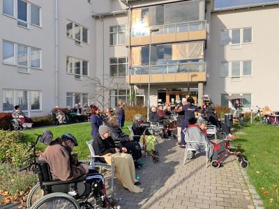 Keep on Boppin´på äldreboenden i Uppsala