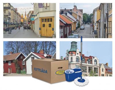 Svensk Flyttstäd etablerar sig i ett 20-tal nya städer.