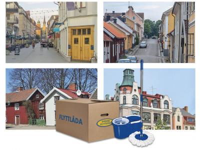Svensk Flyttstäd etablerar sig i ett 20-tal nya städer