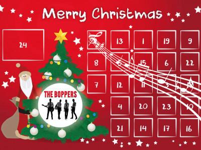 Premiär för The Boppers Julkalender