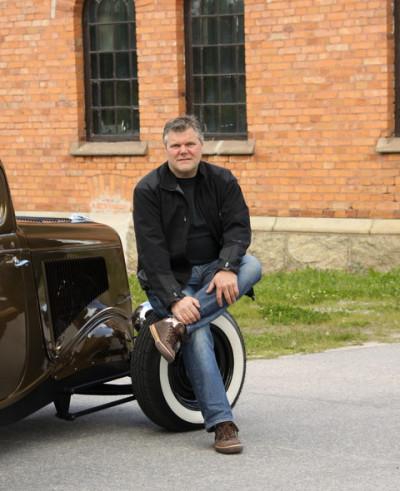 Stefan kvarnberg som driver Kvarnberg Products.