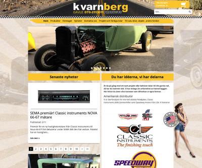 Kvarnberg Products, en av Skandinaviens ledande leverantörer av delar och tillbehör till framför allt Hotrods.
