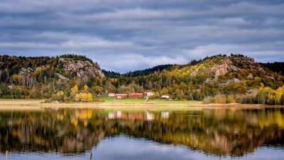 Naturen vid Åbyfjorden får symbolisera det svarföränderliga