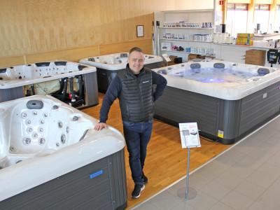 Norrlandspoolen - Gävles största Spabad- och Poolbutik