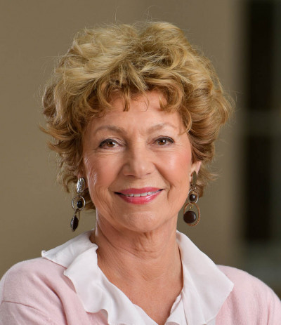 Amelia Adamo, en av Sveriges mest kända journalister.