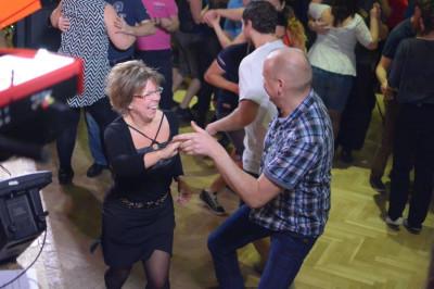 Susanne Lantz dansar