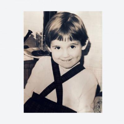 Carina Hermansson som liten