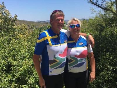 Paret Stigsson startade företag i Sydafrika