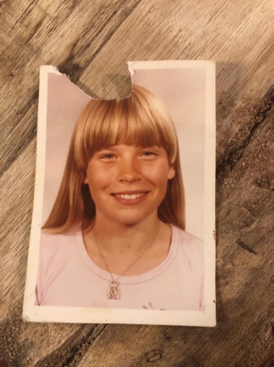 Nina Jansdotter som liten