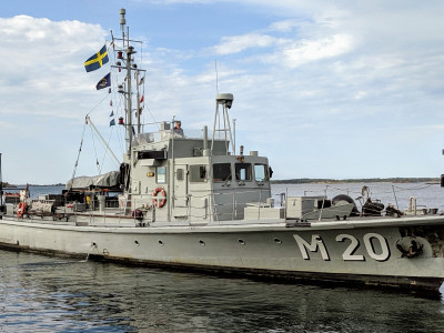 Museifartyget M 20 går till sjöss igen