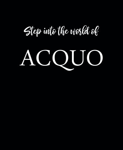 Omslaget Step into the world of ACQUO